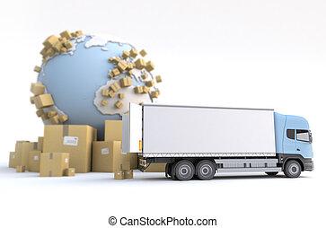 mercancía, transporte