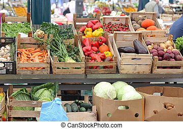 mercato cibo
