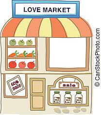 mercato, icona