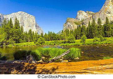 Merced River at Yosemite National Park