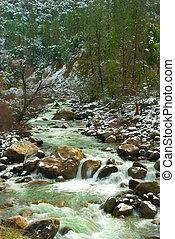 Merced River Waterfall