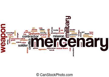 mercenary, 単語, 雲