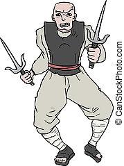 Mercenary cartoon - Creative design of mercenary cartoon