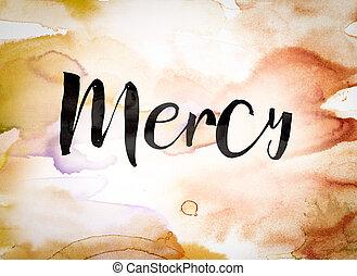 Mercy Concept Watercolor Theme
