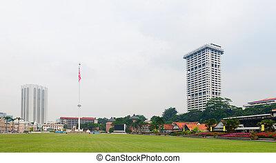 Merdeka Square (Independence Square) in Kuala Lumpur