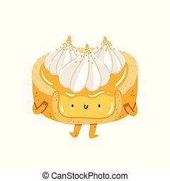 merengue, carácter, tartlet