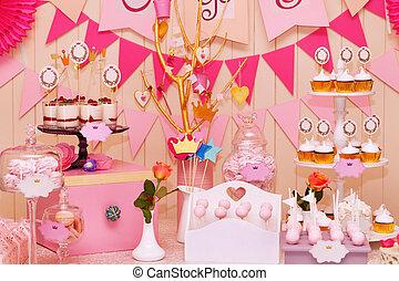 merengues, doce, cupcakes, feriado, bufê