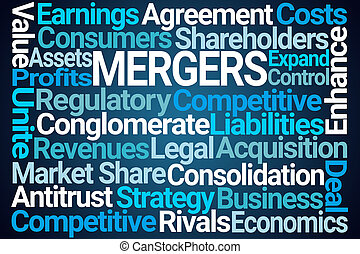 Mergers Word Cloud