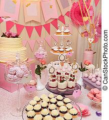 meringues, 단 것, 컵케이크, 휴일, 타격