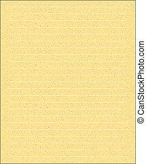 merk papier op, gele