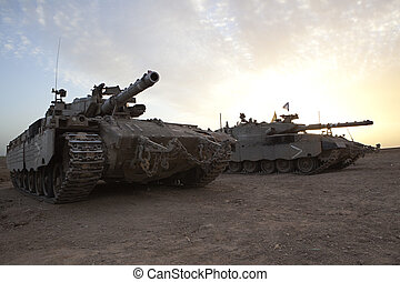 Merkava Mk 4 Baz Main Battle Tank - Israeli - Palestinian...