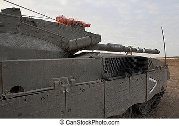 merkava, zbiornik, główny kanał, mk, baz, 4, bitwa