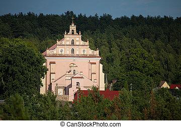 Merkine church, Lithuania