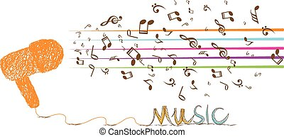 liebe, musik, retro. eps10, text, zen, valentine