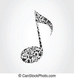 merkzettel, musikalisches