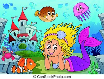 mermaid, 幸せ