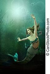 mermaid pequeno
