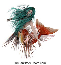 mermaid  - image of mermaid