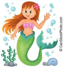 Mermaid theme image 1