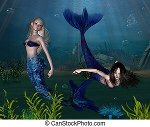 Mermaids - 3