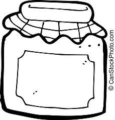 mermelada, caricatura