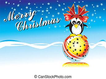 Merrry Christmas Penguin