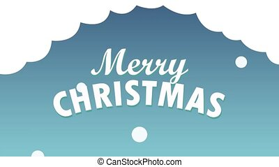Merru christmas card HD animation