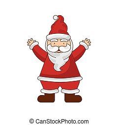 merry chrismas icon xman illustration design vector