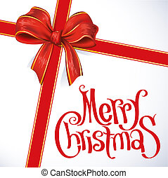 merry christmas, červené šaty karta