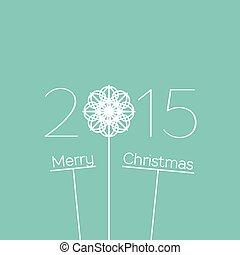 Merry Christmas 2015 Background