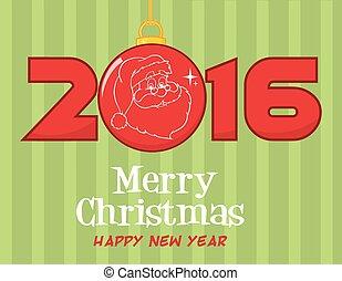 Merry Christmas 2016 Greeting