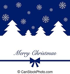 Merry Christmas a vector illustration