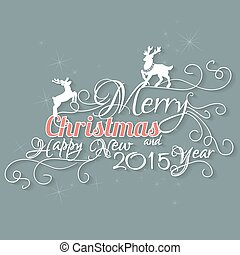 Merry Christmas And Happy New 2015 Year.