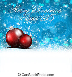 Merry Christmas and Happy New Year - An abstract ...