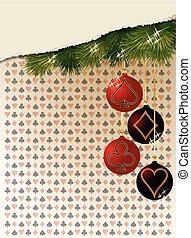 Merry Christmas and New year casino