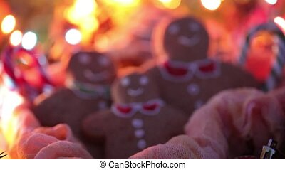 Merry Christmas. Atmospheric Christmas video. Christmas with my family. Ginger biscuits. Happy New Year.