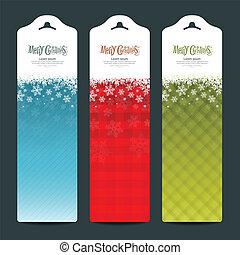 Merry Christmas background Vertical banner modern design, ...