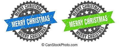merry christmas band sign. merry christmas grunge stamp set