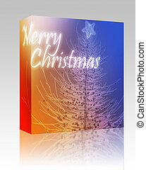 Merry Christmas box package