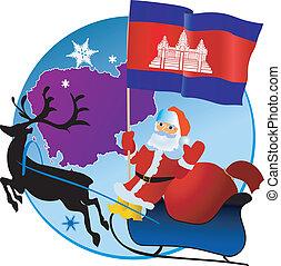 Merry Christmas, Cambodia!