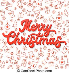 Seasons greetings text text of seasons greetings with vectors handwritten seasons greetings text frame of flowers merry christmas card red lettering 3d inscription on white christmas background with sleighs trees m4hsunfo Image collections