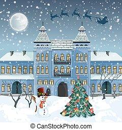 Merry Christmas card .