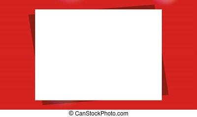 Merry Christmas card, Video Animation HD 1080