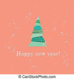 Merry Christmas card with Santa C - Merry Christmas card...