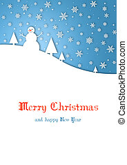 Merry Christmas child card