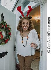 Merry Christmas, Come Inside!