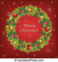 Merry Christmas Congratulation