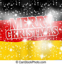 Merry Christmas Creative Background Design
