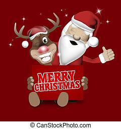 Merry Christmas Creative Background Design - Merry Christmas