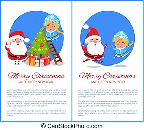 Merry Christmas Decoration Vector Illustration